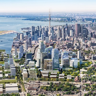 CF to acquire Toronto's 38-acre East Harbour development